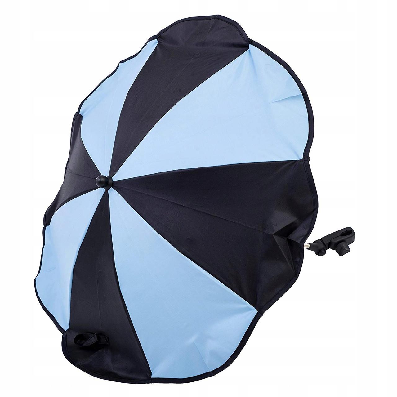 Зонтик для коляски Altabebe (Black/Light Blue)