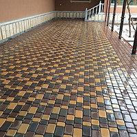 Тротуарная плитка Амстердам желтый/коричневый/черный