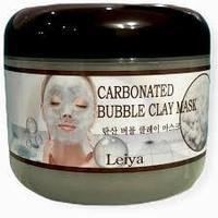 Leiya очищающая кислородная-глиняная маска для лица 100мл