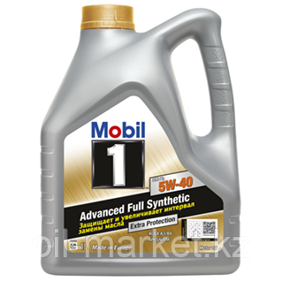 Масло моторное Mobil 1 5W40 FS (4л) синтетическое, фото 2