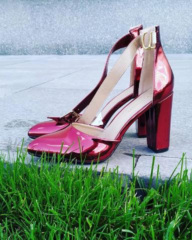 Женские туфли лакированные бордовые 36-40 размер
