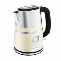 Электрический чайник Kitfort KT-670-3 бежевый, фото 1