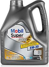 Моторное масло Mobil Super 3000 XE 5W-30 4л синтетическое