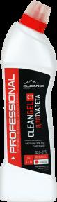 CLEANGEL C11 - средство для мытья унитазов и сантехники - гель .750 мл. и 5 литров.РК