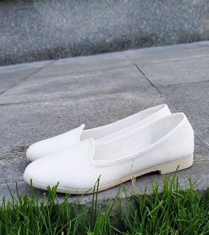 Женские белые балетки 35-40 размер
