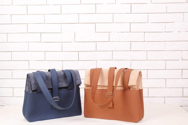 Комбинированные эко сумки