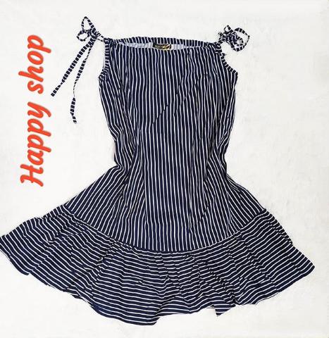 Платье-сарафан женское в полоску размер 42-48