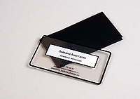 Прозрачные визитки в Алматы, Уф печать визиток в Алматы, фото 1