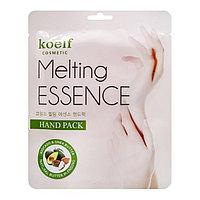 Koelf Смягчающая маска для рук в виде перчаток Melting Essence Hand Mask 1шт