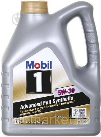 Масло моторное Mobil 1 5W30 FS (4л) синтетическое, фото 2