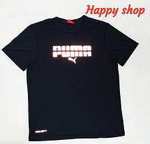 Мужская черная футболка Puma