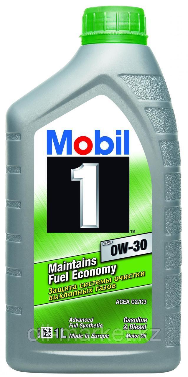 Масло моторное Mobil 1 ESP Formula 0W30 (1л) синтетическое