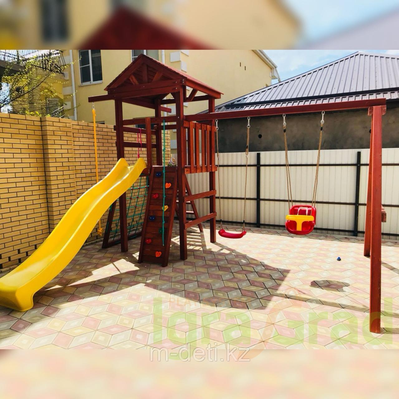 Детские игровые площадки Панда Фани Gride