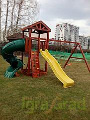 Детские игровые площад  Панда Фани с винтовой трубой