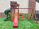Детская площадка  Панда Фани с винтовой трубой, фото 6