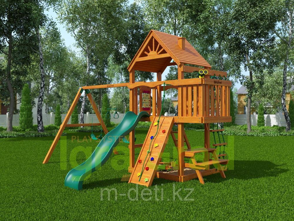 Детская площадка   Шато (Дерево)