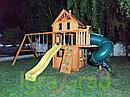 Детская площадка   Шато 2 с трубой (Домик), фото 7