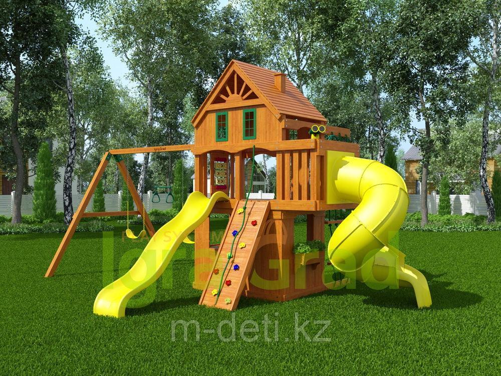 Детская площадка   Шато 2 с трубой (Домик)