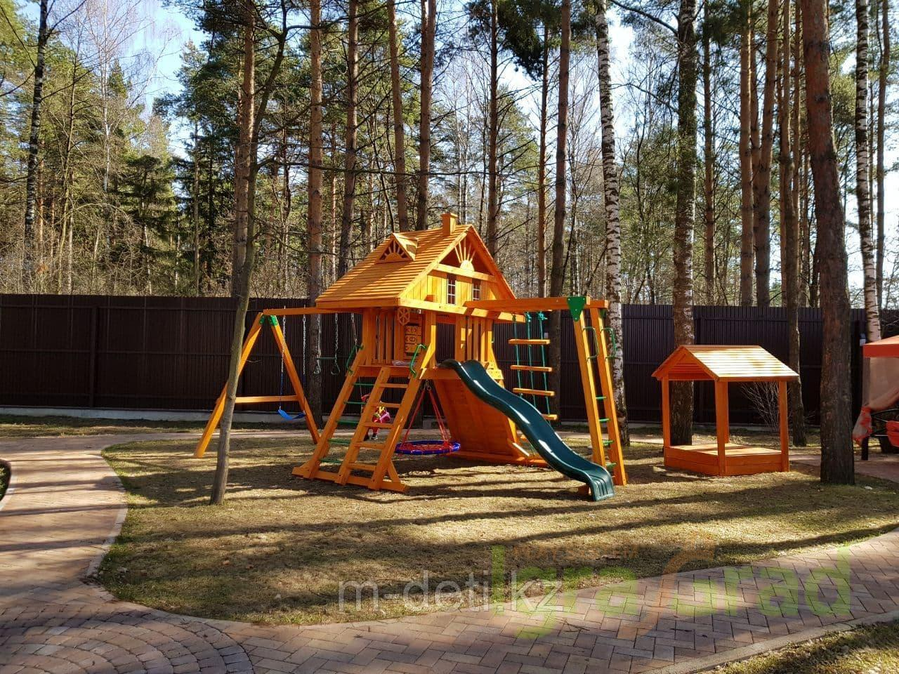 Детская площадка  Крепость с рукоходом (Домик)