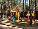 """Детские игровые площадки   """"Крепость Фани с рукоходом"""" (Домик), фото 3"""