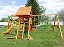 """Детские игровые площадки   """"Крепость Фани с рукоходом"""" (Домик), фото 8"""