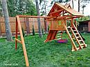 """Детские игровые площадки  """"Крепость Фани с рукоходом"""" (Дерево), фото 2"""