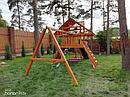 """Детские игровые площадки  """"Крепость Фани с рукоходом"""" (Дерево), фото 4"""