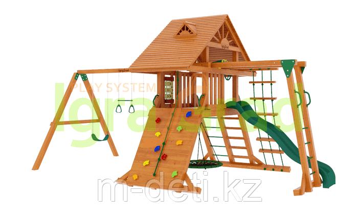"""Детские игровые площадки  """"Крепость Фани с рукоходом"""" (Дерево)"""