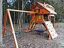 Детская площадка  Крепость Deluxe, фото 9