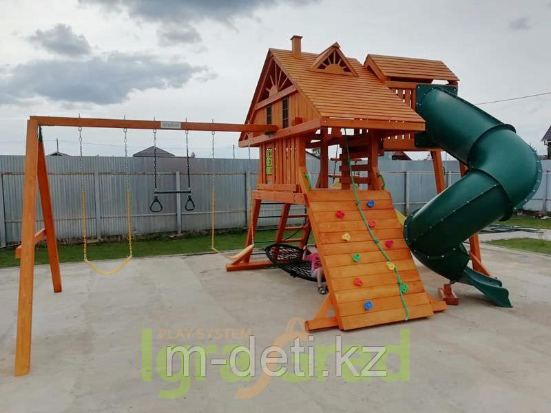Детская площадка  Крепость   Deluxe 2