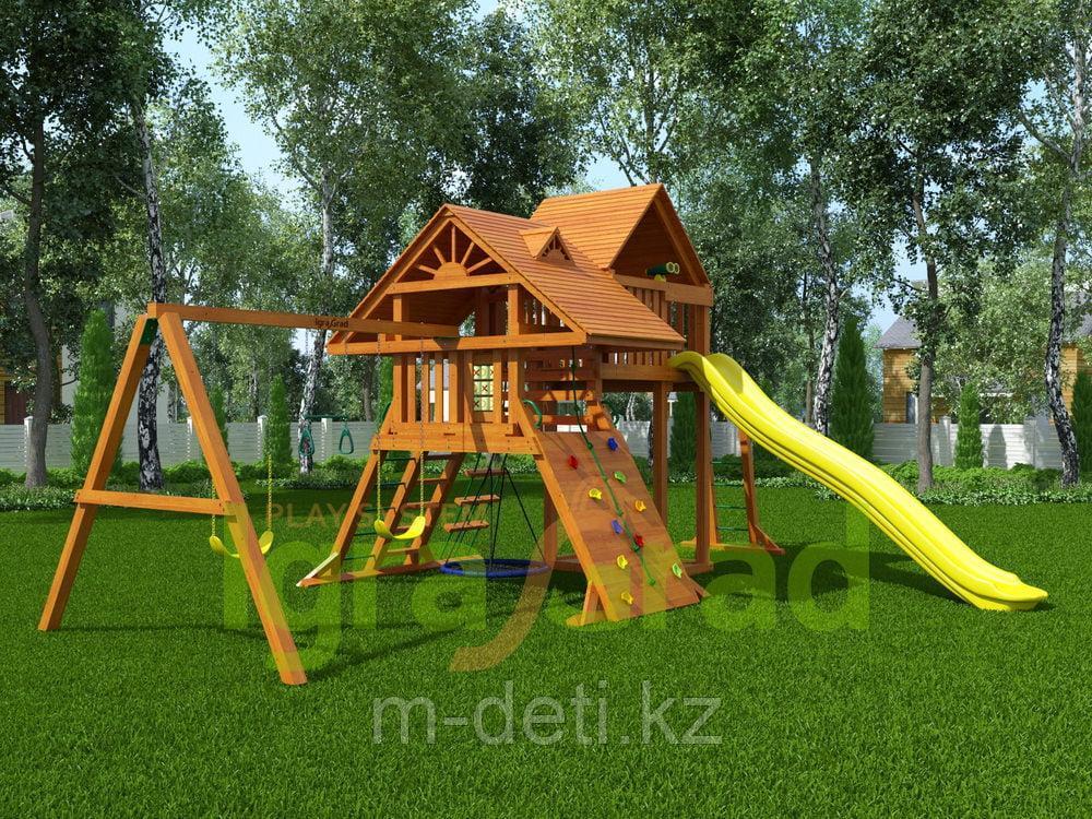 Детская площадка  Крепость Deluxe +