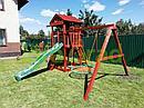 Детские игровые площадки   Панда Фани Fort с сеткой, фото 3