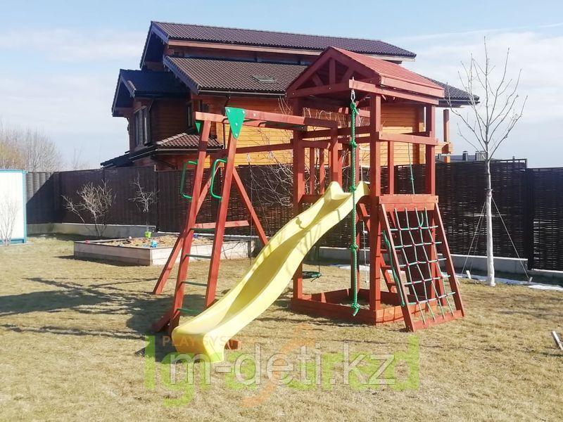 Детские игровые площадки   Панда Фани Gride с рукоходом