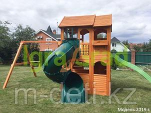 Детская площадка   Клубный домик 2 с трубой