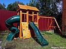 Детская площадка   Клубный домик 2 с трубой, фото 8