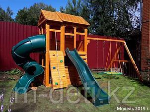 Детские площадки  Клубный домик 2 с трубой