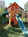 Детская площадка   Клубный домик 2 с трубой, фото 10