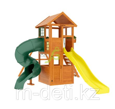 Детские площадки  Клубный домик с трубой