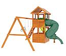 Детские площадки  Клубный домик с трубой, фото 3
