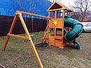 Детская площадка  Клубный домик с трубой, фото 5