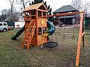 Детские площадки  Клубный домик с трубой, фото 6