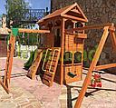 Детская площадка  Клубный домик 2 с рукоходом, фото 7