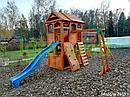 Детская площадка  Клубный домик 2 с рукоходом, фото 10