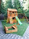 Детская площадка Клубный домик 2 с трубой и рукоходом, фото 4