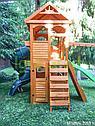 Детская площадка Клубный домик 2 с трубой и рукоходом, фото 5