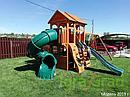 Детская площадка  Клубный домик 3 с трубой, фото 6