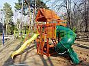 Детская площадка   Шато с трубой (Дерево), фото 3