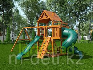 Детская площадка   Шато с трубой (Дерево)