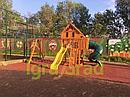 Детская площадка   Шато с трубой (Домик), фото 4