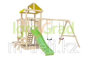 Детская площадка Крафтик со столиком и рукоходом
